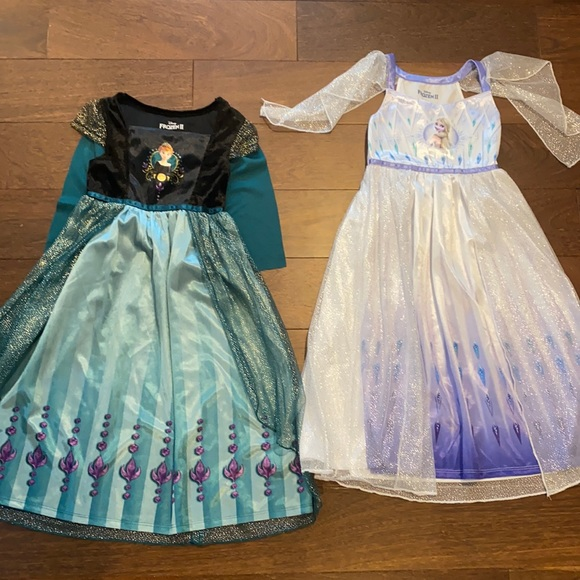 Frozen II size 6 nightgowns (5/6 yr old)